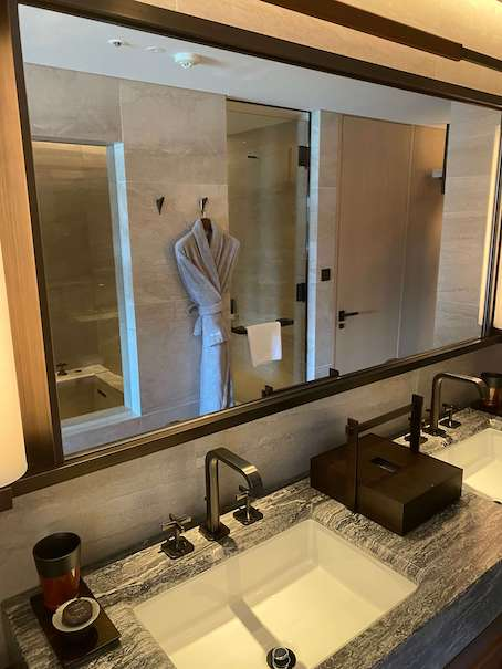 ホテルザ三井京都の洗面台