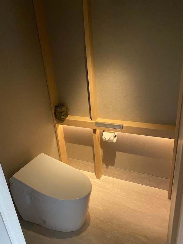 ホテルザ三井京都のトイレ