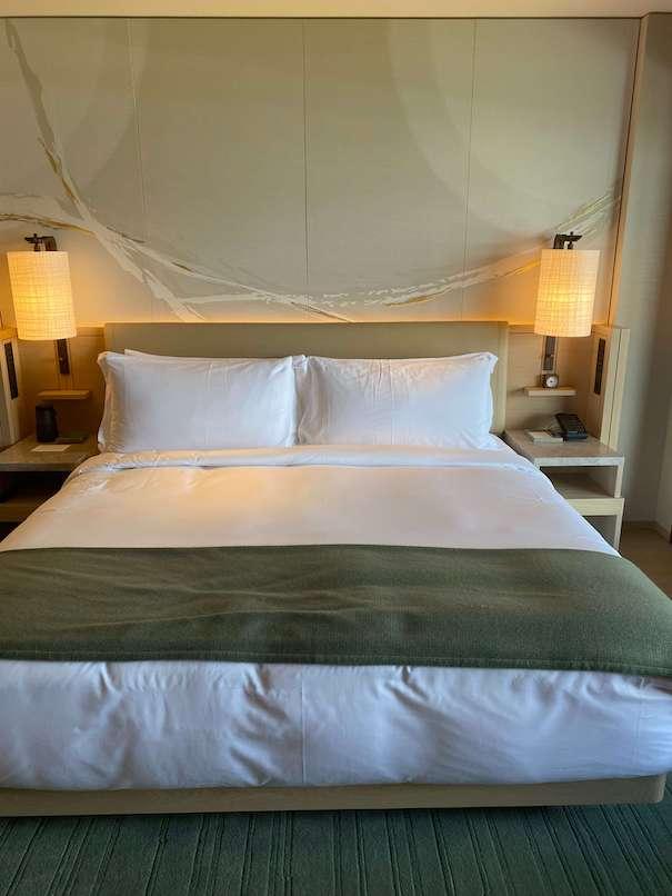 ホテルザ三井京都のベッド