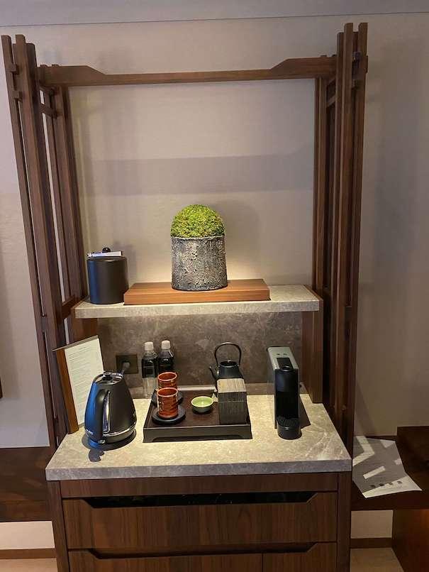 ホテルザ三井京都の盆栽